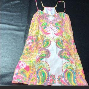 Hotty pink dusk dress